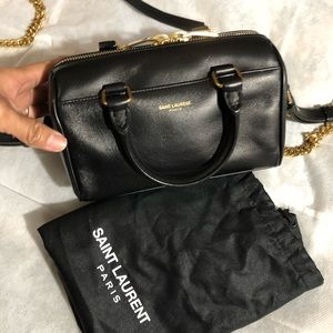 Authentic YSl troy duffle bag